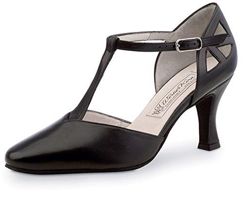 Werner Kern Women's Andrea - 2 3/4'' (6.5 cm) Flare Heel Shoe, 8 M US (5 UK) by Werner Kern