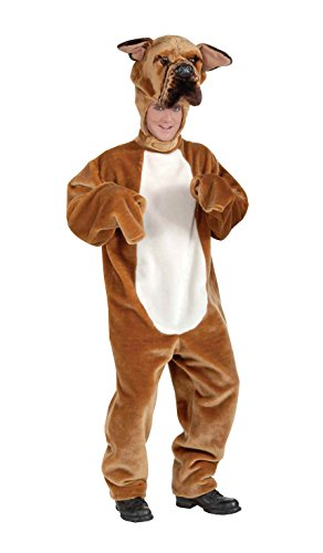 Forum Novelties Men's Bull Dog Deluxe Plush Mascot Costume, Multi, Standard (Bulldog Mascot Costume)