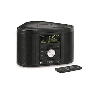 Pure UK Chronos Series 2 DAB/FM Stereo Alarm Clock Radio