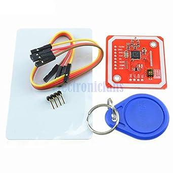 Amazon.com: 1Set PN532 NFC RFID Módulo inalámbrico V3 Kit de ...