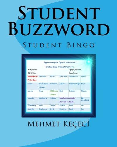 - Student Buzzword: Student Bingo