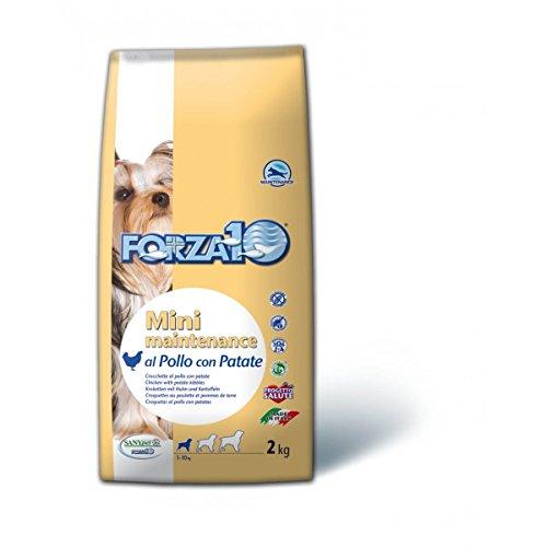 Forza 10Mini mantenance 2kg Huhn Kartoffeln X 2Stück Lebensmittel Lebensmittel trocken Hunde Trockenfutter