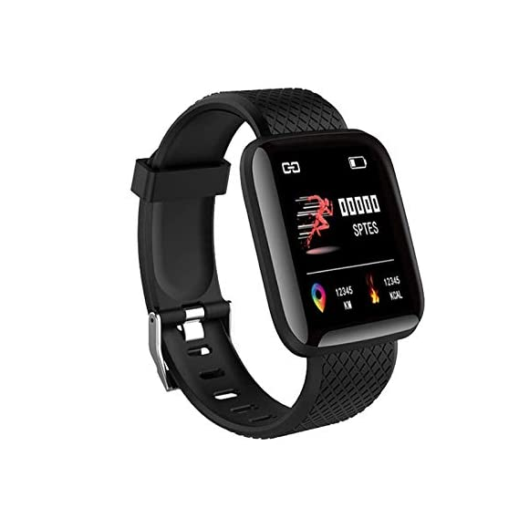 SHOPTOSHOP Smart Band Fitness Tracker Watch Heart Rate with Activity Tracker Waterproof Body Functions Like Steps