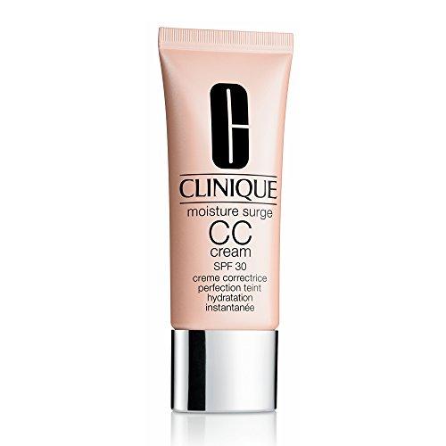 Clinique Moisture Surge CC Cream SPF 30 Hydrating Color Corrector Sunscreen, Very Light, 1.4 Ounce (Moisture Surge Cc Cream Hydrating Colour Corrector)