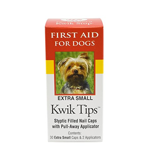 Kwik-Stop-30-Count-Tips-Styptic-Filled-Nail-Caps-for-Dogs-X-Small