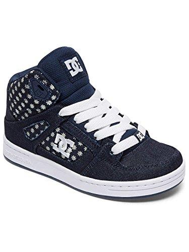 DC Shoes Rebound TX Se, Zapatillas Para Niñas Denim