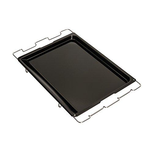 KAISER Multi-Vario-Herdbackblech 41 x 33 cm bis 51 x 33 cm Cuisine Line schnitt- und kratzfeste Emaillie-Oberfläche spühlmaschinenfest praktischer Griffrand