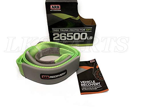 ARB Tree Saver Protector Tow Strap Green 10 ft. Length ARB730LB New