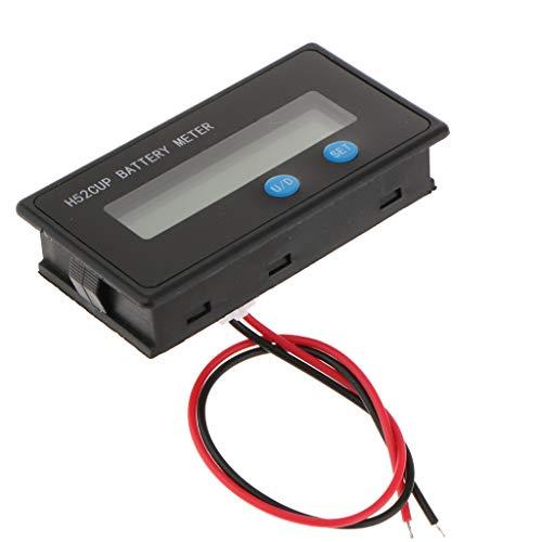 F Fityle DC 9-150V Current Voltage Tester, Digital Multimeter; Volt amperage meter, Dual LED Display, Volt Amp Meter Gauge Panel for Car Automotive: