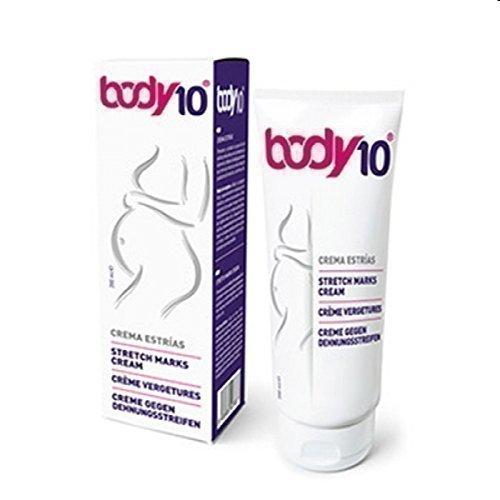 Body10 Stretch Mark Creme gegen Schwangerschaftsstreifen 200ml