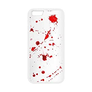 iPhone 6 4.7 Inch Cell Phone Case White Dexter Blood 002 PQN6053055314435