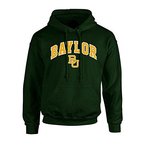 Baylor Bears Hooded Sweatshirt Arch Green - XL