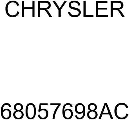 Genuine Chrysler 68057698AC Transmission Heat Shield
