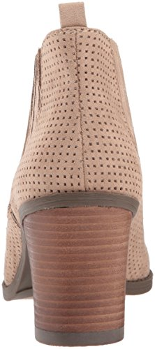 Women's Launch Scholl's Dr perforated putty microfiber Boot A0qgA5pnwx