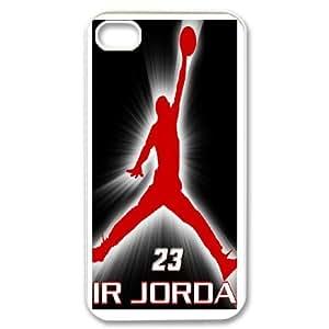 iPhone 4,4S Cell Phone Case Michael Jordan Logo Case Cover PP8P297686