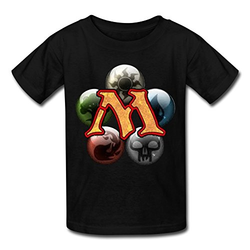 Price comparison product image ToWi Kid's Magic Gathering Game T-shirts Black L