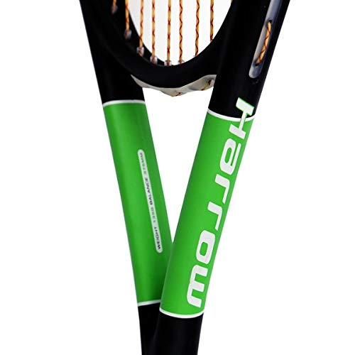 Harrow 65960219 2016 Spark Squash Racquet, Black/Lime