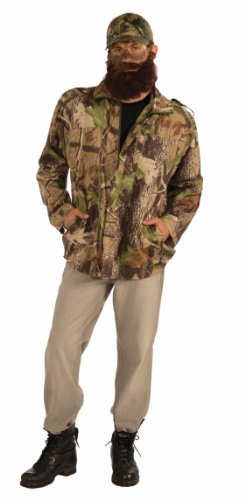 Forum Novelties Men's Hunting Man Costume Jacket, Camouflage, One Size -