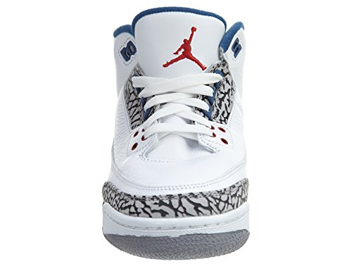 Bg Air Retro Jordan Enfants 3 Nike Blanc Blue Sneakers True 1qawXX