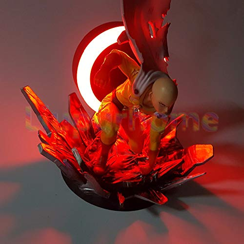 Amazon.com: One Punch LED Light Figure - One Punch Man Led Night Lights Figure - 23cm (9.1 inch): Toys & Games