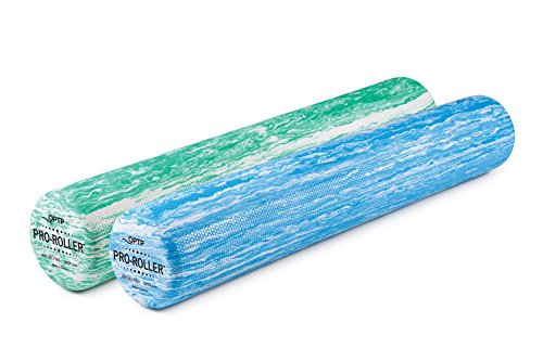 OPTP PRO ROLLER Standard Density Foam Roller Durable Roller for Massage, Stretching, Fitness, Yoga and Pilates