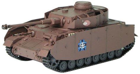 プラッツ ガールズ&パンツァー IV号戦車D型 (H型仕様) -あんこうチームver.- エキスパートセット (流通限定) 1/35スケール プラモデル B00ES5D8P2