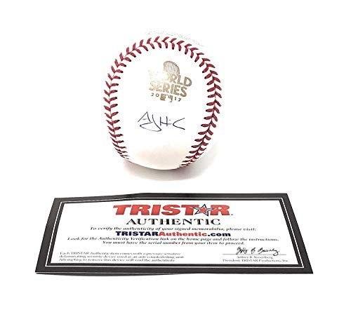 AJ Hinch Houston Astros Signed Autograph Official MLB World Series Baseball Tristar Authentic Certified