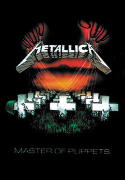 Metallica Master of Puppets Fabric Poster Flag Wall Hanging