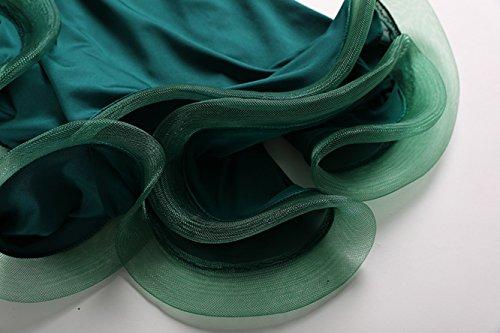 Stampato Nazionali L Rete Da Competizione Di Abiti Ballo Sala Wqwlf Valzer Donne Moderna Per 2 Green Maniche Prestazione Suit s Abbigliamento Pezzi Costumi A Danza AaB0axFw