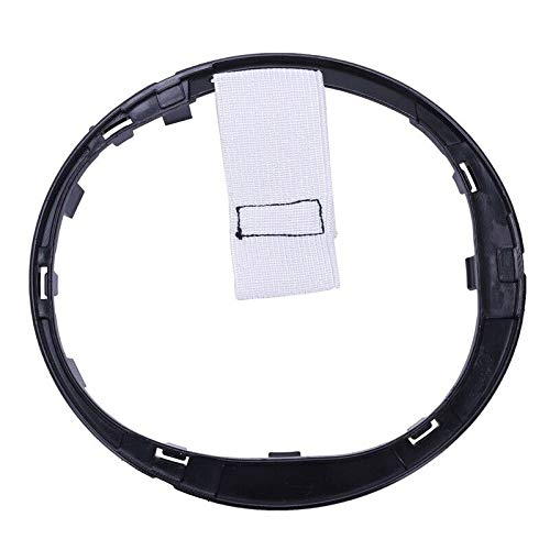 WonVon Car Gear Shift Stick Lever Knob Gaiter Boot Ring Lugs Auto Gear Stick Lever Frame for Fiat 500 500c