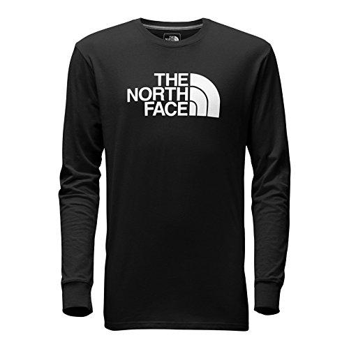 The North Face Men's Long-Sleeve Half Dome Tee - TNF Black & TNF White - XXL