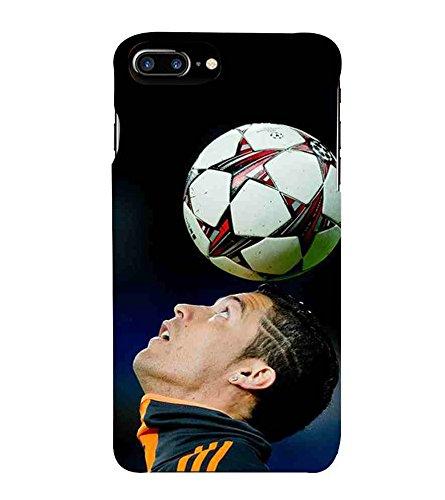 For Apple Iphone 7 Plus Football Man Black Wallpaper Amazon In