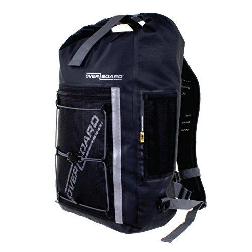 OverBoard Waterproof Pro-Sport Backpack, Black, 30-Liter by Overboard