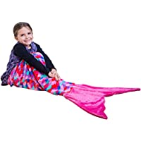 PixieCrush Mermaid Tail Blanket For Teenagers/Adults &...
