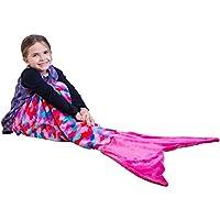 PixieCrush Mermaid Tail Blanket For Kids 3-7 years |...