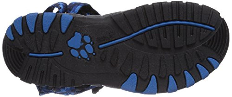 Jack Wolfskin Kids Seven Seas, Unisex Children's Athletic and Outdoor Sandals, Blue (Classic Blue 1127), 1UK(33 EU)