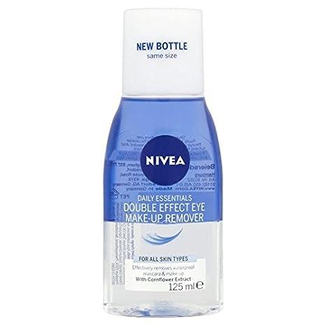 Nivea Diarios Esenciales Doble Efecto Ojo Remover Maquillaje 125ml: Amazon.es: Hogar