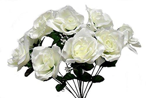 Artificial Fake Silk Daisy Flower Bouquet 1Bunch Green - 4