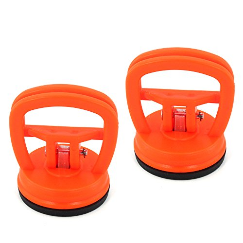 (Suction Dent Puller, Elitexion 2 inches Mini Suction Cup Handle Dent Screen Puller - Pack of 2)
