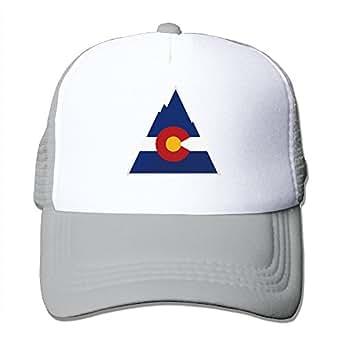 colorado flag mesh hat trucker baseball cap