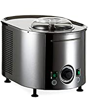 Lello 4080 Musso Lussino Ice Cream Maker, Stainless Steel