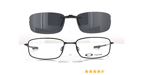 dbd1afc5fab Amazon.com  OAKLEY KEEL-BLADE-OX3125-55X18 POLARIZED CLIP-ON SUNGLASSES  (Frame NOT Included)  Health   Personal Care