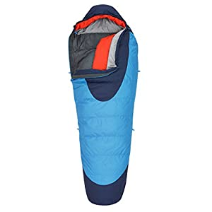 Kelty Cosmic 20 Degree Sleeping Bag, Paradise Blue, Regular