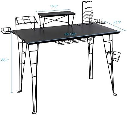 Cool Atlantic 33935701 Gaming Desk Amazon Ca Home Kitchen Home Interior And Landscaping Pimpapssignezvosmurscom