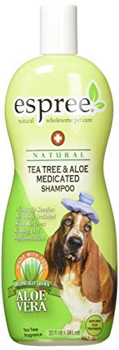 Espree Tea Tree & Aloe Medicated Shampoo, 20 oz - Aloe Dog Shampoo