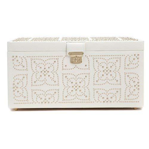 WOLF Marrakesh Large Jewelry Box Cream
