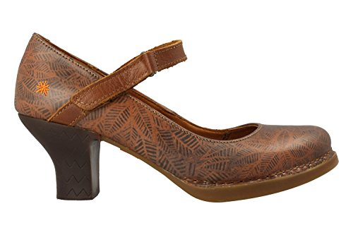 ART Shoe 0933 Harlem Fantasy Brown Leaves Braun
