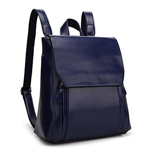 multifunzionale di 29 modo casuale borsa PU borsa molle La donne 33cm cuoio zaino di 11 delle YA8qS