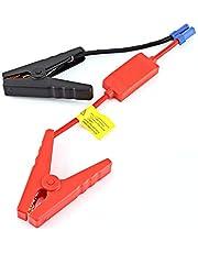 SALUTUY Cabos de impulsionador, cabo de impulsionador fácil de usar, evita carga inversa 10 AWG, resistente, 30 V 160 A com conector de plugue EC5 para bateria de carro