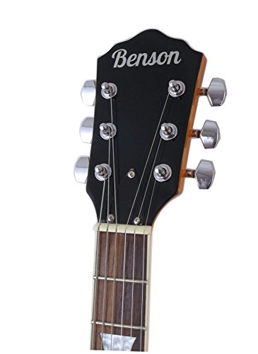 Juego de guitarra eléctrica semiacústica de cuerpo hueco con doble mordedura, de Benson: Amazon.es: Instrumentos musicales